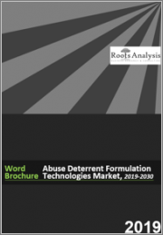 Abuse Deterrent Formulation Technologies Market, 2019-2030