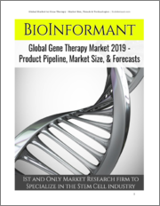 Global Market for Gene Therapy 2019 - Product Pipeline, Market Size, & Forecasts