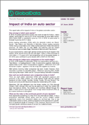 Impact of India on Auto Sector - Thematic Research