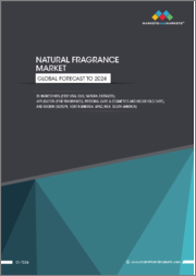 Natural Fragrance Market by Ingredients (Essential Oils, Natural Extracts), Application (Fine Fragrances, Personal Care & Cosmetics, Household Care), and Region (Europe, North America, APAC, South America, Middle East & Africa) - Global Forecast to 2024