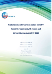 Global Biomass Power Generation Industry Research Report Growth Trends and Competitive Analysis 2019-2025
