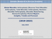 Global Shoulder Arthroplasty (Reverse Total Shoulder Arthroplasty, Total Shoulder Arthroplasty, Revision Shoulder Arthroplasty, Shoulder Resurfacing, Hemiarthroplasty) Market Report: Insights, Trends and Forecast (2019-2023)