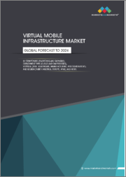 Virtual Mobile Infrastructure Market by Component (Platforms and Services), Deployment Type (Cloud and On-premises), Vertical (BFSI, Healthcare, Manufacturing, and Government), and Region (North America, Europe, APAC, and RoW) - Global Forecast to 2024