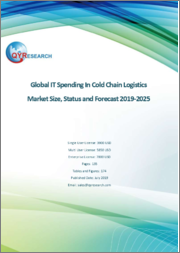 Global IT Spending In Cold Chain Logistics Market Size, Status and Forecast 2019-2025