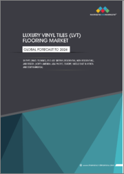 Luxury Vinyl Tiles (LVT) Flooring Market by Type (Rigid, Flexible), End-Use Sector (Residential, Non-residential), and Region (North America, Asia Pacific, Europe, Middle East & Africa, and South America) - Global Forecast to 2024