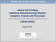 Global 3D Printing (Additive Manufacturing) Market: Insights, Trends and Forecasts (2019-2023)