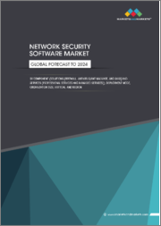 Network Security Software Market by Component (Solutions (Firewall, Antivirus/Antimalware, and SWG) and Services (Professional Services and Managed Services)), Deployment Mode, Organization Size, Vertical, and Region - Global Forecast to 2024