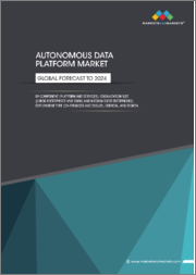 Autonomous Data Platform Market by Component (Platform and Services), Organization Size (Large Enterprises and Small and Medium-Sized Enterprises), Deployment Type (On-Premises and Cloud), Vertical, and Region - Global Forecast to 2024