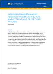 Intelligent Marketing Voice Assistant: Patent Distribution, Market Trend, and Opportunity Analysis (Pre-order)