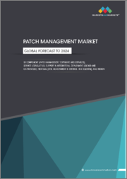 Patch Management Market by Component (Patch Management Software and Services), Service (Consulting, Support & Integration), Deployment (Cloud and On-Premises), Vertical (BFSI, Government & Defense, IT & Telecom), and Region - Global Forecast to 2024