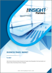 Business Travel Market to 2027 - Global Analysis and Forecasts by Industry (Government and Corporate), Service (Transportation, Food & Accommodation, and Recreation Activity); Traveler (Group and Solo)