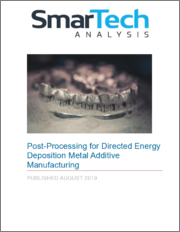 Post-Processing for Directed Energy Deposition Metal Additive Manufacturing