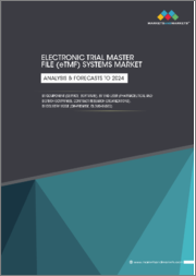 Electronic Trial Master File (eTMF) Systems Market by Component (Services, Software), End-User (Pharmaceutical & Biotechnology Companies, Contract Research Organizations), Delivery Mode (On-Premise, Cloud-Based), and Region - Global Forecast to 2024