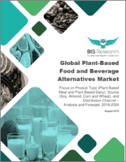 Global Plant-Based Food & Beverages Alternatives Market: Focus on Product Type (Plant Based Meat and Plant Based Dairy), Source (Soy, Almond, Corn and Wheat), and Distribution Channel - Analysis and Forecast, 2019-2024