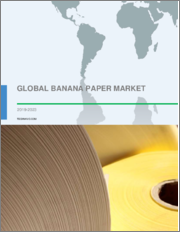 Banana Paper Market by Distribution Channel and Geography - Global Forecast and Analysis 2019-2023
