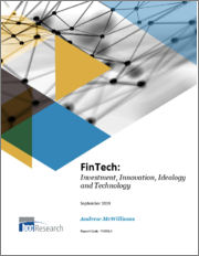 FinTech: Investment, Innovation, Ideology and Technology