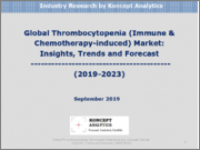 Global Thrombocytopenia (Immune & Chemotherapy-induced) Market: Insights, Trends and Forecast (2019-2023)
