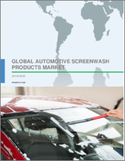 Automotive Screenwash Products Market by End-users and Geography - Global Forecast and Analysis 2019-2023