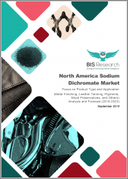 North America Sodium Dichromate Market: Focus on Product Type and Application (Metal Finishing, Leather Tanning, Pigments, Wood Preservatives, and Others) - Analysis and Forecast, 2018-2023
