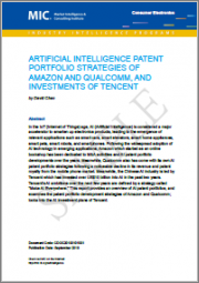 Artificial Intelligence Patent Portfolio Strategies of Amazon and Qualcomm, and AI Investments of Tencent