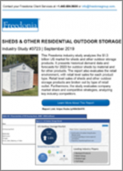 Sheds & Other Residential Outdoor Storage (US Market & Forecast)