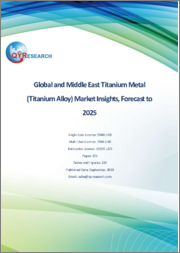 Global and Middle East Titanium Metal (Titanium Alloy) Market Insights, Forecast to 2025