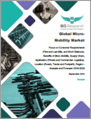 Global Micro-Mobility Market: Focus on Consumer Requirements, Benefits of Micro Mobility, Supply Chain, Application, Location, Region - Analysis and Forecast, 2019-2029
