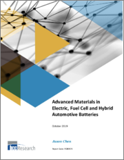 Advanced Materials in Electric, Fuel Cell and Hybrid Automotive Batteries