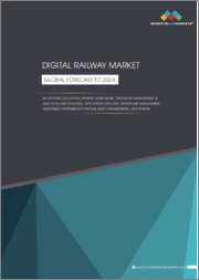 Digital Railway Market by Offering (Solutions and Services), Application Type (Rail Operations Management, Passenger Experience, and Asset Management), Region (North America, Europe, APAC, MEA, Latin America) - Global Forecast to 2024