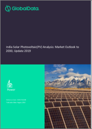 India Solar Photovoltaic (PV) Analysis: Market Outlook to 2030, Update 2019