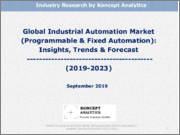 Global Industrial Automation Market (Programmable & Fixed Automation): Insights, Trends and Forecast (2019-2023)