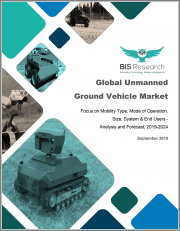Global Unmanned Ground Vehicle Market: Focus on Mobility Type, Mode of Operation, Size, System & End Users - Analysis and Forecast, 2019-2024