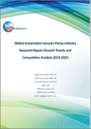 Global Automotive Vacuum Pump Industry Research Report Growth Trends and Competitive Analysis 2019-2025