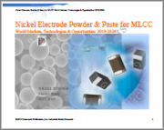 Nickel Electrode Powder and Paste: World Markets, Technologies and Opportunities: 2019-2024