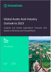 Global Acetic Acid Industry Outlook to 2023 - Capacity and Capital Expenditure Forecasts with Details of All Active and Planned Plants