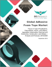 Global Adhesive Foam Tape Market: Focus on Type (Polyethylene, Polyurethane, Acrylic, and Others), Application (Automotive, Electrical and Electronics, Construction, and Others) - Analysis and Forecast, 2019-2029