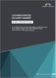 Crowdsourced Security Market by Type (Web Application, Mobile Application, and others), Deployment Mode, Organization Size, Vertical, and Region (North America, Europe, APAC, Latin America, MEA) - Global Forecast to 2024
