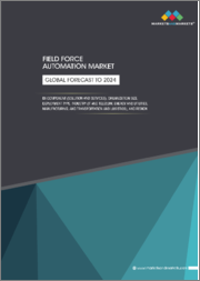 Field Force Automation Market by Component (Solution and Services), Organization Size, Deployment Type, Industry (IT and Telecom, Energy and Utilities, Manufacturing, and Transportation and Logistics), and Region - Global Forecast to 2024