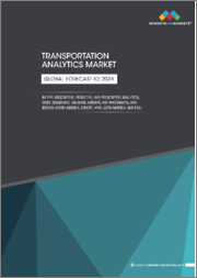Transportation Analytics Market by Type (Descriptive Analytics, Predictive Analytics, Prescriptive Analytics), Mode (Roadways, Railways, Airways, and Waterways), Region (North America, Europe, APAC, Latin America, MEA) - Global Forecast to 2024