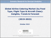 Global Airline Catering Market (by Food Type, Flight Type & Aircraft Class): Insights, Trends & Forecast (2019-2023)