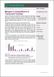 Mergers & Acquisitions in Travel and Tourism - Thematic Research