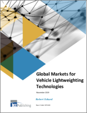 Global Markets for Vehicle Lightweighting Technologies