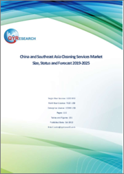 China and Southeast Asia Cleaning Services Market Size, Status and Forecast 2019-2025