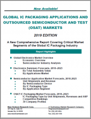 Global IC Packaging Applications and Outsourced Semiconductor and Test (OSAT) Markets - 2019 Edition: A New Comprehensive Report Covering Critical Market Segments of the Global IC Packaging Industry
