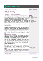 Virtual Reality - Thematic Research