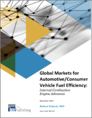 Global Markets for Automotive/Consumer Vehicle Fuel Efficiency: Internal Combustion Engine Advances