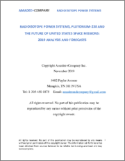 Radioisotope Power Systems, Plutonium-238 and the Future Of United States Space Missions:2019 Analysis and Forecasts