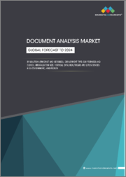 Document Analysis Market by Solution (Product and Services), Deployment Type (On-premises and Cloud), Organization Size, Vertical (BFSI, Healthcare and Life Sciences, and Government), and Region - Global Forecast to 2024