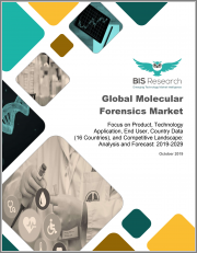 Global Molecular Forensics Market: Focus on Product, Technology Application, End User, Country Data (16 Countries), and Competitive Landscape - Analysis and Forecast, 2019-2029