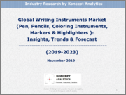Global Writing Instruments Market (Pen, Pencils, Coloring Instruments, Markers & Highlighters): Insights, Trends & Forecast (2019-2023)